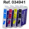 Sistema rellenable con tintas de sublimación para Epson WF7110 - Cartuchos rellenables