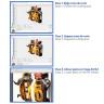 Software iColor SmartCUT - Divide las imagen en partes