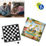 Tableros y fichas redondas para juegos - Ejemplo personalizado