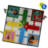 Tableros y fichas sublimables para juegos - Ejemplo de personalización