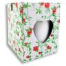 Taza blanca para infusiones con tapa y cuchara - Detalle caja de transporte