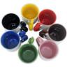 Taza con cuchara e interior de color - Detalle interior y colores