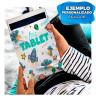 Tela para sublimación de poliéster elástico - Ejemplo de personalización y uso