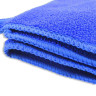 Toalla de baño para sublimación de microfibra con cenefa - Detalle costura