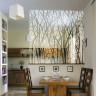 Vinilo decorativo esmerilado para cristales efecto ramas
