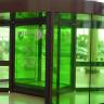 Vinilo decorativo para cristales verde primavera transparente