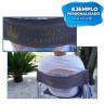 Vinilo textil especial para exteriores - Ejemplo de uso en silla
