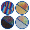 Vinilo Textil Poli-Flex® Starflex Holográfico - Efecto bajo la incidencia de luz