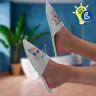 Zapatillas de estar por casa para sublimación - Ejemplo de personalización y uso
