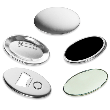 Oval Badges - 65x45mm