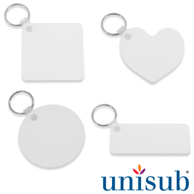 Sublimation Key Rings - Plastic