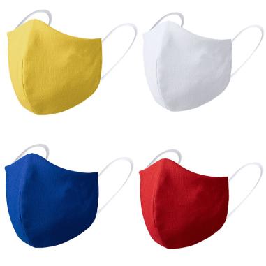 Face masks for kids - 3D - Coloured