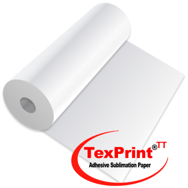 Sublimation Paper Rolls - TexPrint-TT - Adhesive