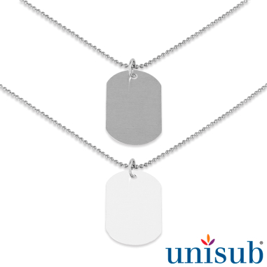 Sublimation Military Dog Tags & Accessories
