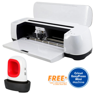 Cricut Maker Machine - Vinyl Cutter - Free Cricut EasyPress Mini