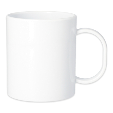 Sublimation Polymer Mug - White