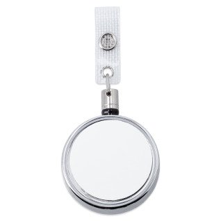 Sublimation Retractable Key Chain Accessory