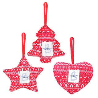 Christmas Ornaments - Fabric