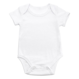 Sublimation Baby Bodysuit - Short Sleeves - Cotton Touch