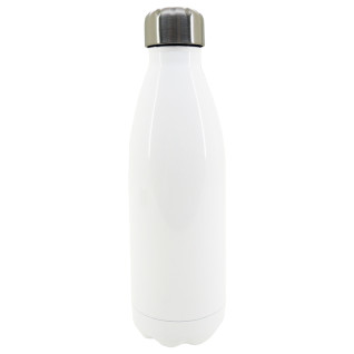 Sublimation Water Bottle - 500ml - Insulated - Stainless Steel - White