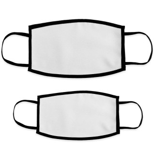 Sublimation Face Masks - Double Layer - White