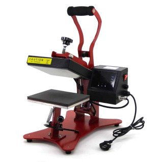 Combo Heat Press 2 in 1 - Brildor - Caps & Flat Platen
