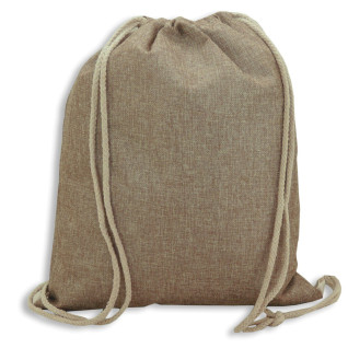 Sublimation Drawstring Bag - Imitation jute fabric