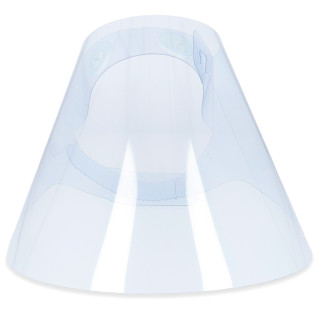 Face Shield - rPET Plastic - Clear