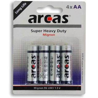 AA Batteries - R6/1.5V - Pack of 4 units