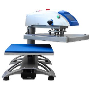 Swing Away Heat Press Machine with slide out drawer - Brildor XH-B2N 40x50cm