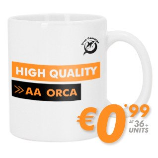 Sublimation Mug - ORCA Grade AA - High Quality