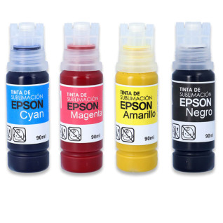 Sublimation Ink Bottles - Epson - 90ml