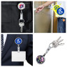 Sublimation Retractable Key Chain Accessory - Examples of use and personalisation
