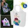Sublimation Shopping Bag - Multi-Purpose - Example of use and personalisation