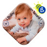 """Sublimation """"Baby on Board"""" Sign - Personalised example"""