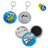 Button Badges - Ø44mm - Personalised