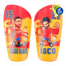 Sublimation Shin Pads & Accessories - Honeycomb texture - Personalisation example