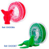 TPU Filaments for 3D printers - Red and green colours