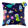 Sublimation Cushion Covers with zip - Personalisation example (square)