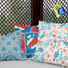 Sublimation Cushion Covers with zip - Example of use and personalisation