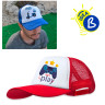Sublimation Caps - Bicolour - Example of use and personalisation