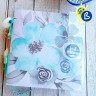 Clear Plastic Sheet - 0.3mm thick - Example of card making creativity