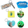 Sublimation Key Rings - Plastic - Customised