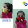 Face masks for kids - 3D - Coloured - Personalised example
