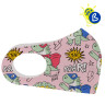 Sublimation Face Masks for kids - Softshell - Example of personalisation