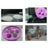 3D Sublimation Vacuum Heat Press Machine - Examples of use with vacuum moulds and jigs