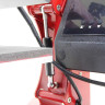 Combo Heat Press 2 in 1 - Brildor - Caps & Flat Platen - Silicone details