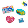 Moulds with badges - Special Shapes - Example of personalised badges