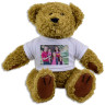 Sublimation Teddy Bear with T-shirt - Personalised example