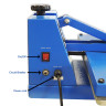 Heat Press Machines & platens - Brildor Economic - Manual - Digital controller